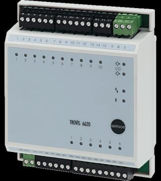 I/O-Modul TROVIS 6620
