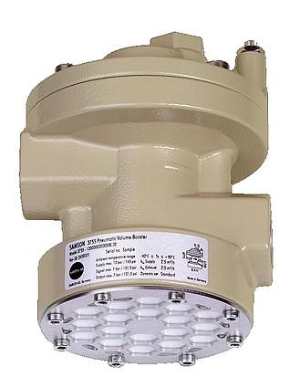 Pneum. Volumenstromverstärker Typ 3755